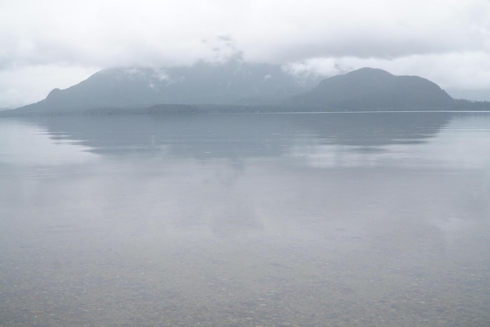 Po ulewnym deszczu Vancouver Island