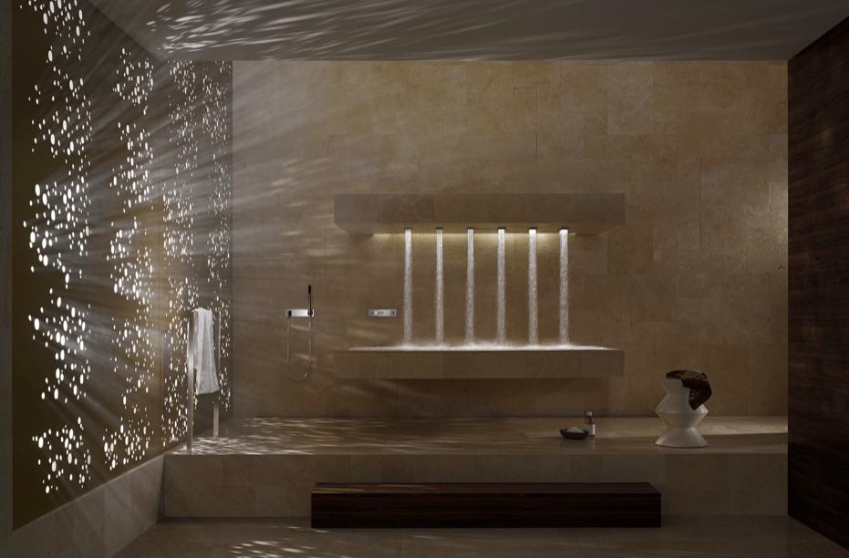prysznic na leżąco